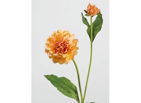 Георгин оранжевый 48см