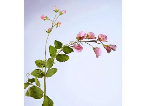 Цветной горошек ярко-розовый 63см